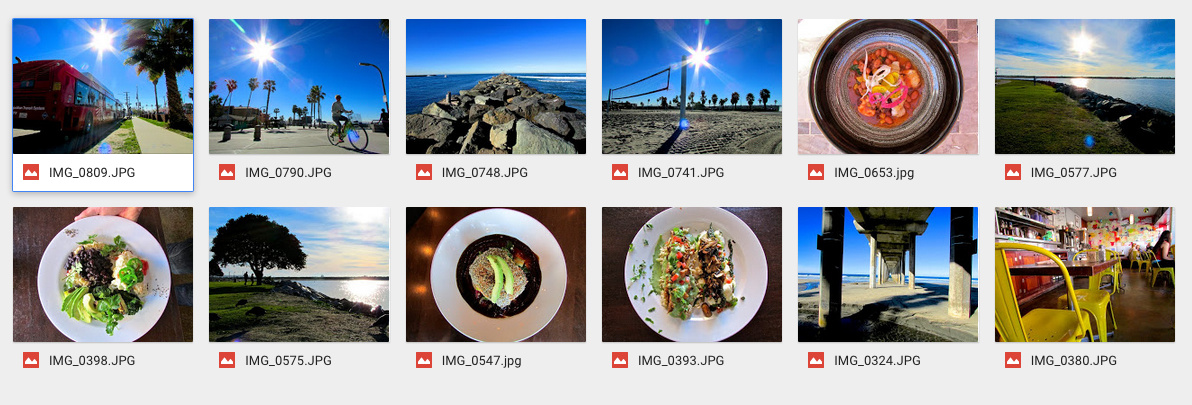 how to add photos to shared folder in google drive