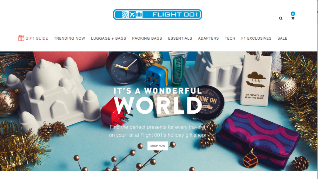 The Best Places to Holiday Shop Online-mintvine-flight001