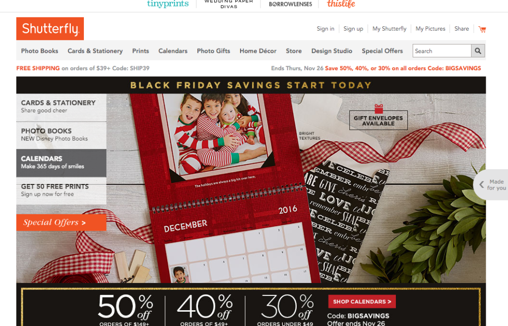 The Best Places to Holiday Shop Online-mintvine-shutterfly