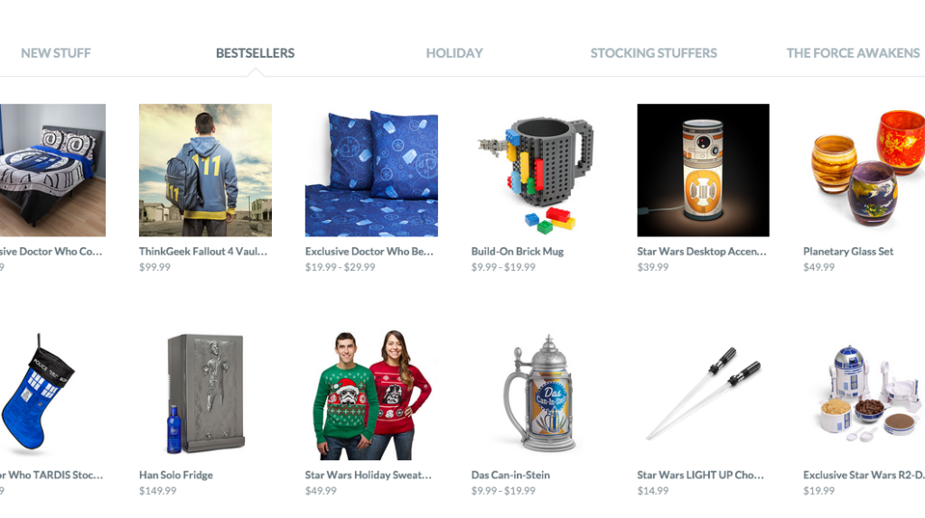 The Best Places to Holiday Shop Online-mintvine-thinkgeek